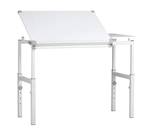 STUDIO DESIGNS Graphix II Workstation - 24in x 36in White/Gray 10211