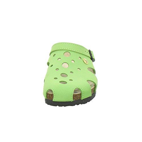 pour Schuhe AFS 2199332 Vert Mules Femme pomme qgtvrtdU