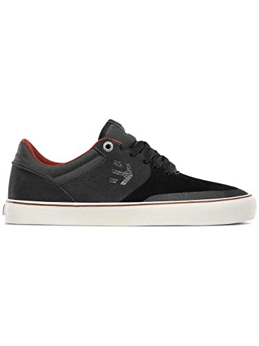 etnies Mens Men Marana Vulc Skate Shoe, Black/Charcoal, 6 Medium US