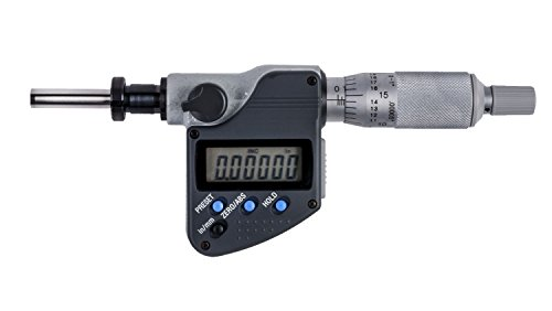 Digital Micrometer Head - Electronic Micrometer Head, 0 to 1 in