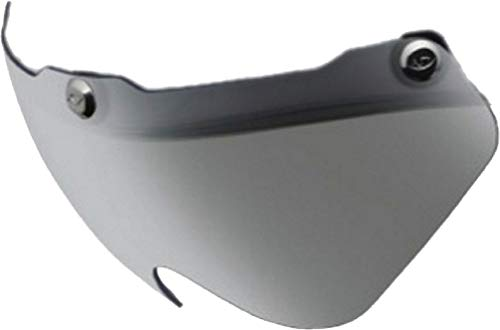 Giro Replacement Shield for Air attack Helmet - Gray/Silver Flash ()