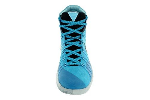 Nike Herren Hyperdunk 2015 Basketballschuh Blue Lagoon / Schwarz-reiner Platnium-Wolf Grey