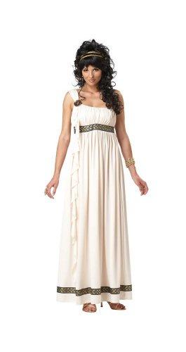 California Costumes Olympic Goddess Adult Costume, Cream, Large ()