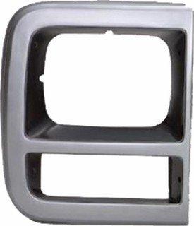 QP C050A-a Chevy Van Silver Passenger Headlight Door (94 Chevy Van)