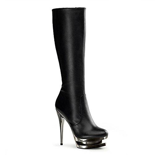 Heels-Perfect - Zapatos de vestir de cuero para mujer negro negro negro - negro