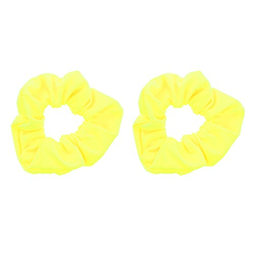 Set of 2 Solid Scrunchies - Neon -