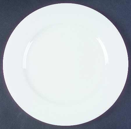 The Cellar White Rimmed Dinner Plate ()