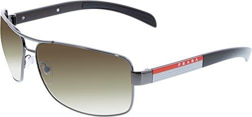 gunmetal prada sport (linea rossa) ps54is 太阳镜太阳眼镜