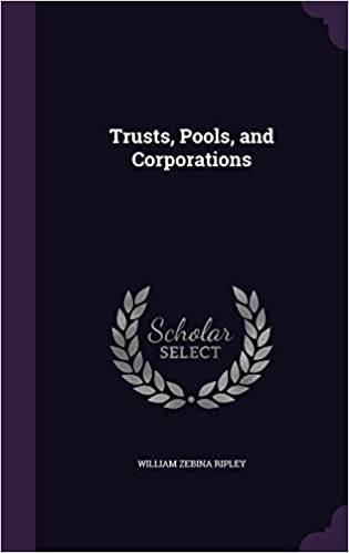 Book Trusts, Pools, and Corporations