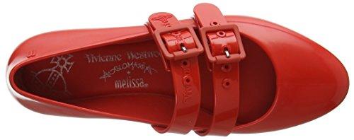 Doll Chiusa Donna VW 50847 Melissa Red Vivienne Red Ballerine amp; Westwood Punta 0tqIwnBf8