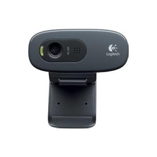 Logitech 960-000694 C270 3MP Webcam, Black