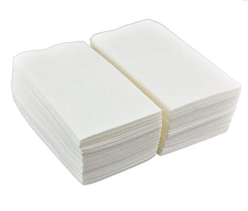 Gmark Linen-Feel Guest Towels – Premium Cloth-Like Paper Hand Napkins, Disposable White Guest Towel (200 Pack) for Kitchen, Bathroom, Weddings or Events GM1059 -