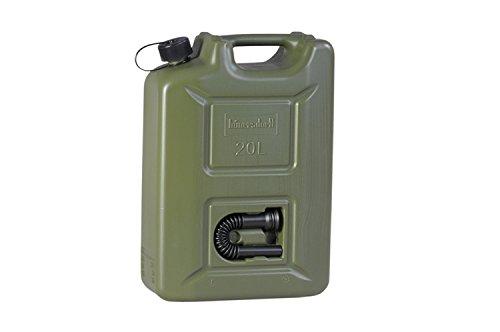hünersdorff 802010 Brandstofjerrycan Profi 20 l voor benzine, diesel en andere gevaarlijke goederen, UN-goedkeuring…