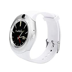 Kacowpper Smart Watch,2018 Hands-Free Bluetooth Smart Watch Phone Mate Full Round Screen SIM Camera Lens Android