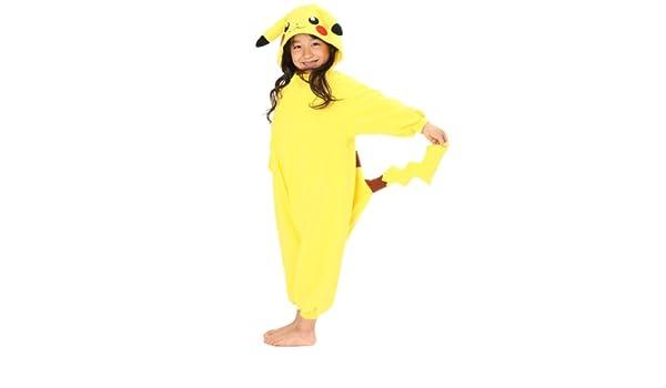 traje de pano grueso y suave para los ninos Pikachu 110 ...