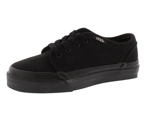 Vans Boys' 106 Vulcanized , Black-11 -