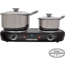 plate double burner commercial electric