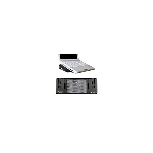 Phoenix 8880467 Extensible Cooling Platform for Laptop 7 Inches to 15.6 Inches Black