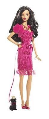 Mattel Birthstone Beauties Barbie African-American Miss R...