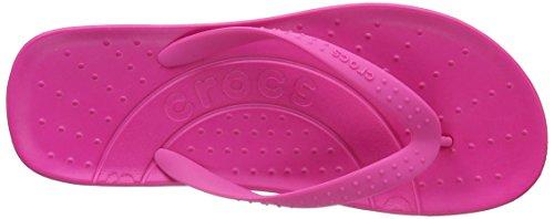 Crocs Chawaii Flip - Chanclas para hombre Rosa (Candy Pink)
