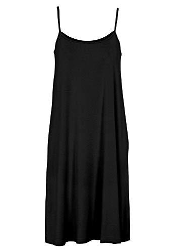 A Ellos Black Size Tank Plus Line Dress Women's qggpIwrB
