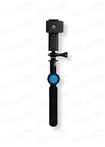 DICApac Action DP-1S Ultra-light Telescoping 23.5cm-83.5cm Floating Selfie Stick with Blue tooth...