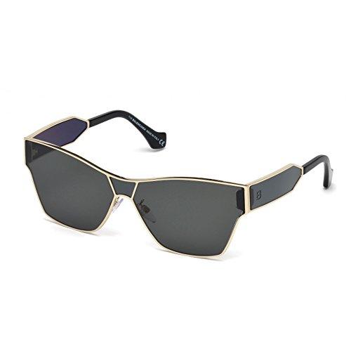 Sunglasses Balenciaga BA 95 BA 0095 33A gold/other / smoke