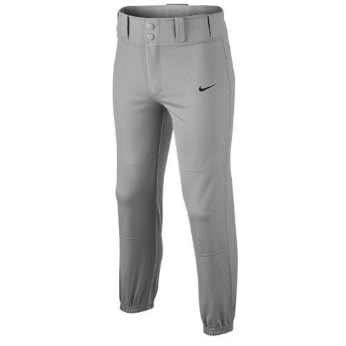 Nike Kids Boys' Baseball Core Dri-FIT Pant (Big Kids), Blue Grey/Team Black, XL (18-20