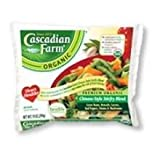 Cascadian Farm Organic Premium Chinese-Style Stir fry Blend Vegetable, 10 Ounce -- 12 per case.