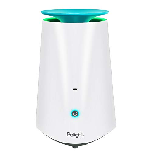 Balight Hepa Air Purifier Portable Travel Air Purifier Allergies & Pets Reduce Mold Odor Smoke Desktop Small Room up to 160 Sq Ft - Air Cleaner Breathing Light & Essential Oil Tank (3000 Purifier Hepa Air)