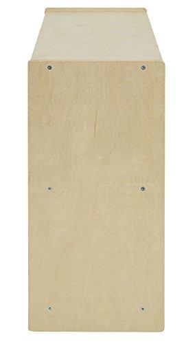 ECR4Kids Birch 2 Shelf Storage Cabinet with Back, Natural by ECR4Kids (Image #3)