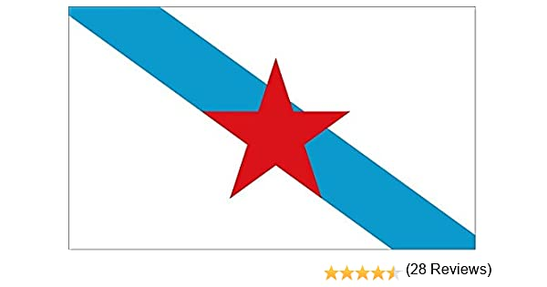 Grand Bandera de Galicia Con Estrella-Estreleira- independentista ...