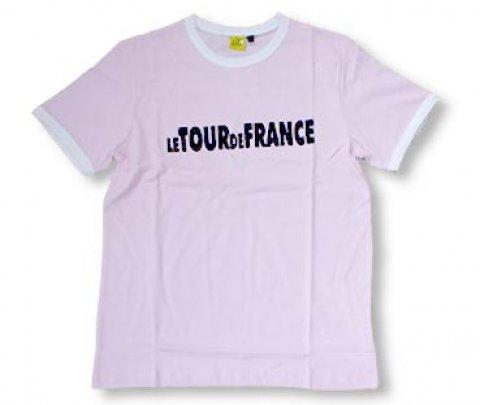 T shirt pink Tour de France
