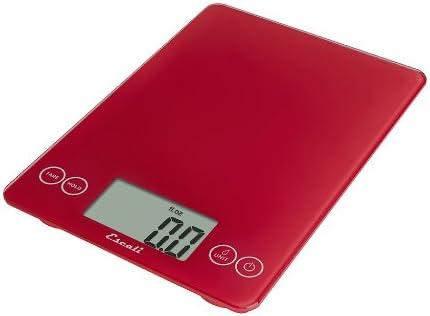 Amazon Com Escali Dsc Glass Digital Kitchen Scale 15lb 7kg Retro Red Digital Kitchen Scales Kitchen Dining