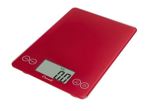 Escali Arti Glass Digital Kitchen Scale - 15 lb. / 7 kg.