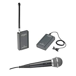 Audio-Technica ATR288W TwinMic VHF Battery-Powered Wireless Microphone System (B00006HO3R) | Amazon price tracker / tracking, Amazon price history charts, Amazon price watches, Amazon price drop alerts