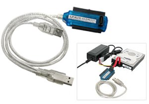 Lindy USB 2.0 to SATA and IDE Drive Adapter (42868)