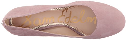 Sam Edelman Womens Stillson Pump Pink Mauve Suede NM8GcX03