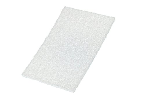 Abrasive Hand Pad - VSM 401246 Abrasive Hand Pad, White, 6