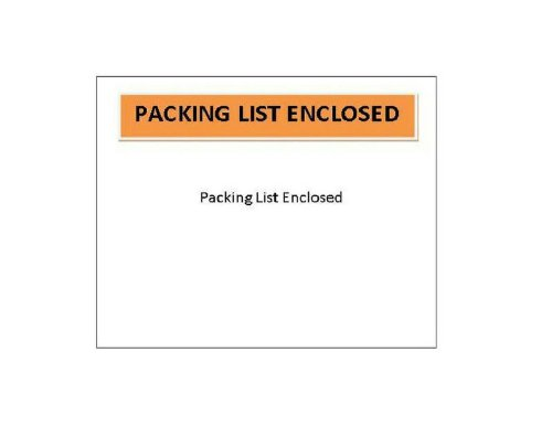 Packing List Enclosed Envelope Panel Face Back Side Load 2.0 Mil Thick - 4.5'' X 6'' 1000 / Case by PackagingSuppliesByMail (Image #2)