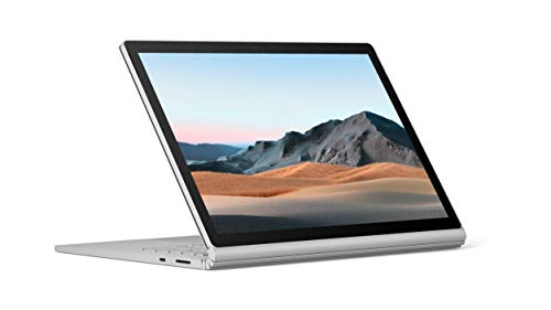 Microsoft Surface Book 3 Convertible Notebook, Intel Quad Core 10th Gen i7-1065G7 1.3Ghz, 32GB, 512GB SSD, 15.5 Inch Touchscreen, GeForce GTX 1660 Ti 6GB, Eng Keyboard, Win 10 Pro, Silver