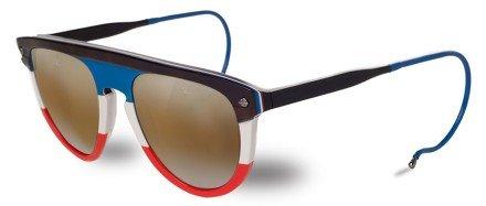 Vuarnet VL 1508 Sunglasses Flag/Brown Lynx, One - Lynx Sunglasses