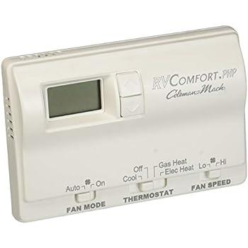 Amazon com: Coleman Rv Camper mach Manual Thermostat: Automotive