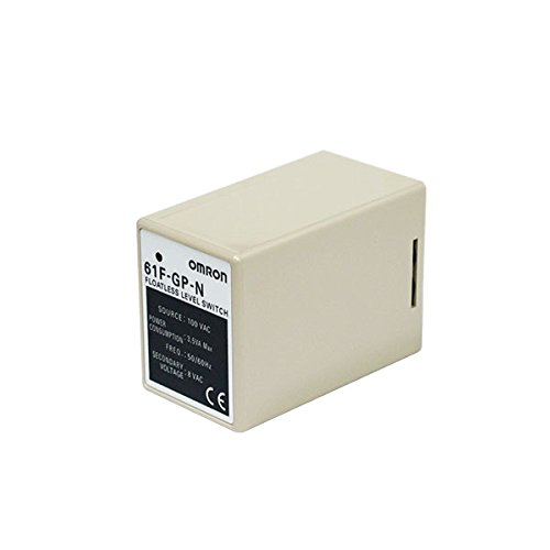 OMRON 61F-GP-N AC100V Floatless Level Switch (Compact, Plug In Type)(11 pins)(General (Omron Plug In)