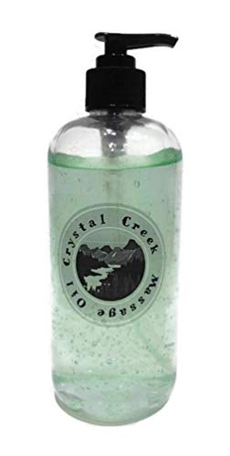Crystal Creek Gingerbread Scented Massage Oil, 16 Ounce ()