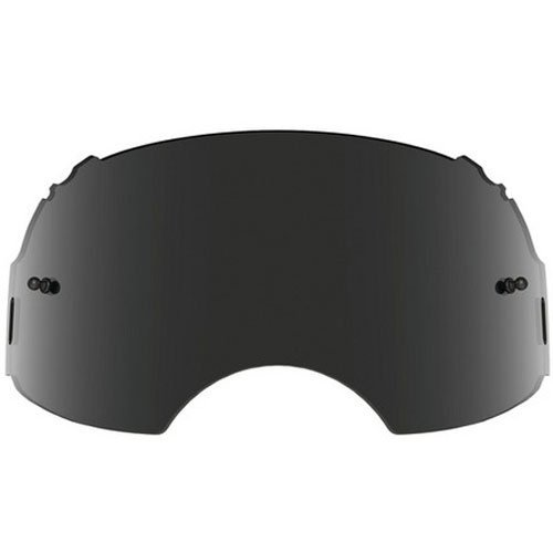 Oakley Airbrake MX Adult Replacement Lens MX/Off-Road/Dirt Bike Motorcycle Eyewear Accessories - Dark Grey / One - Makes Lenses Who Oakley