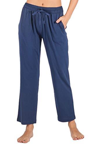 - WEWINK CUKOO Womens Pajama Pants Cotton Sleep Pants Stretch Knit Lounge Pants with Pockets