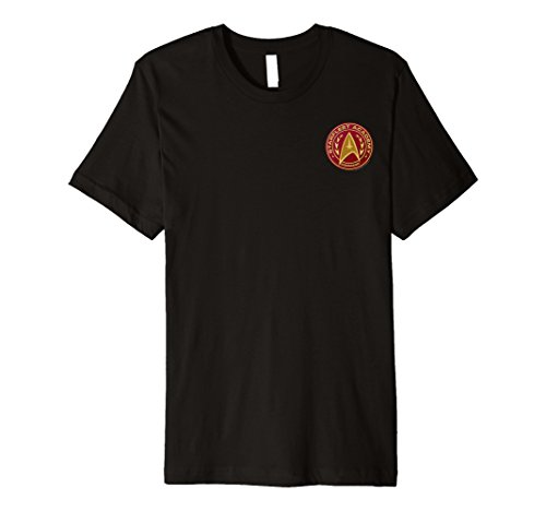 Starfleet Academy Uniform Costumes - Starfleet Academy Command Badge Red Costume