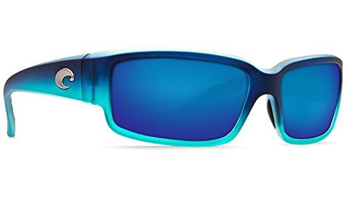 Costa Del Mar CL73OBMGLP Caballito Sunglass, Matte Caribbean Fade Blue - Costa Sunglasses Caballito