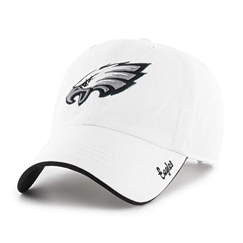 NFL Philadelphia Eagles Women's Accolade OTS Challenger Adjustable Hat, White, Women's